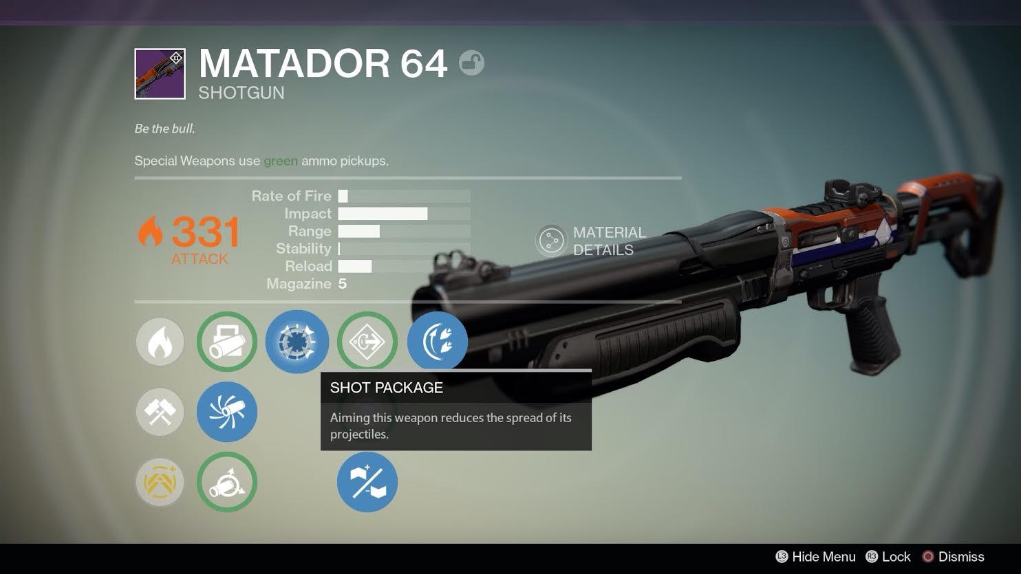 Image for Destiny: Is Matador 64 the ultimate shotgun?