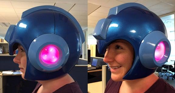 Image for While Inafune makes Mega Man games, Capcom is making a Mega Man helmet
