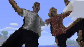 Image for Dude hacks Kinect to take photos, post them in Minecraft