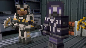 Image for Minecraft Xbox 360 receiving Mass Effect mash-up DLC in September