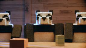 Image for Minecraft's cats and pandas get a fittingly cute and fuzzy reveal trailer at X018