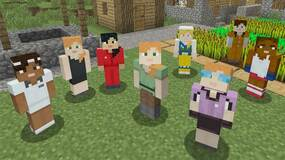 Image for Minecraft console builds get free female avatar skin