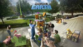Image for Minecraft Earth early access available on iOS and Android mobile devices in the US