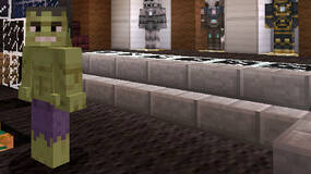 Image for Minecraft Xbox 360 video shows off the Marvel skin pack