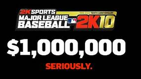 Image for 2K Sports: $1M to first person to throw a perfect game in MLB 2K10