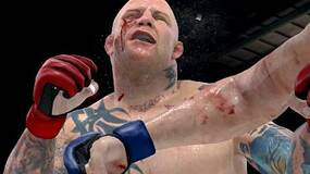 Image for MMA screens from GDC show blood, sweat, maybe some tears
