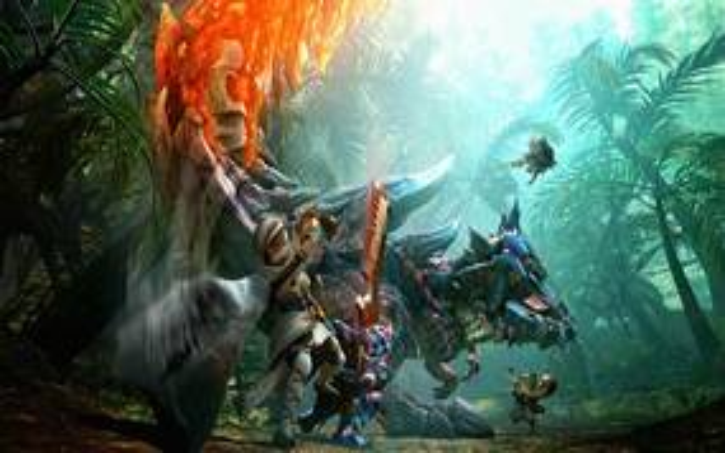 Image for Capcom grabs US trademark for Monster Hunter World