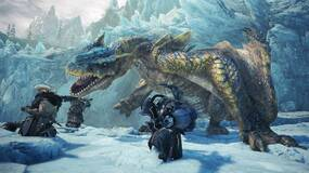 Image for Monster Hunter World Iceborne: watch a four-person squad take on Tigrex