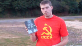 Image for Russian shoots MW2, sets it on fire