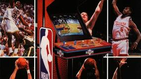 """Image for """"He's on fire!"""": How a club bouncer starred in the making of billion-dollar arcade hit NBA Jam"""