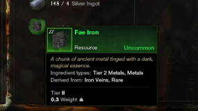 Image for New World Fae Iron locations and how to raise mining luck