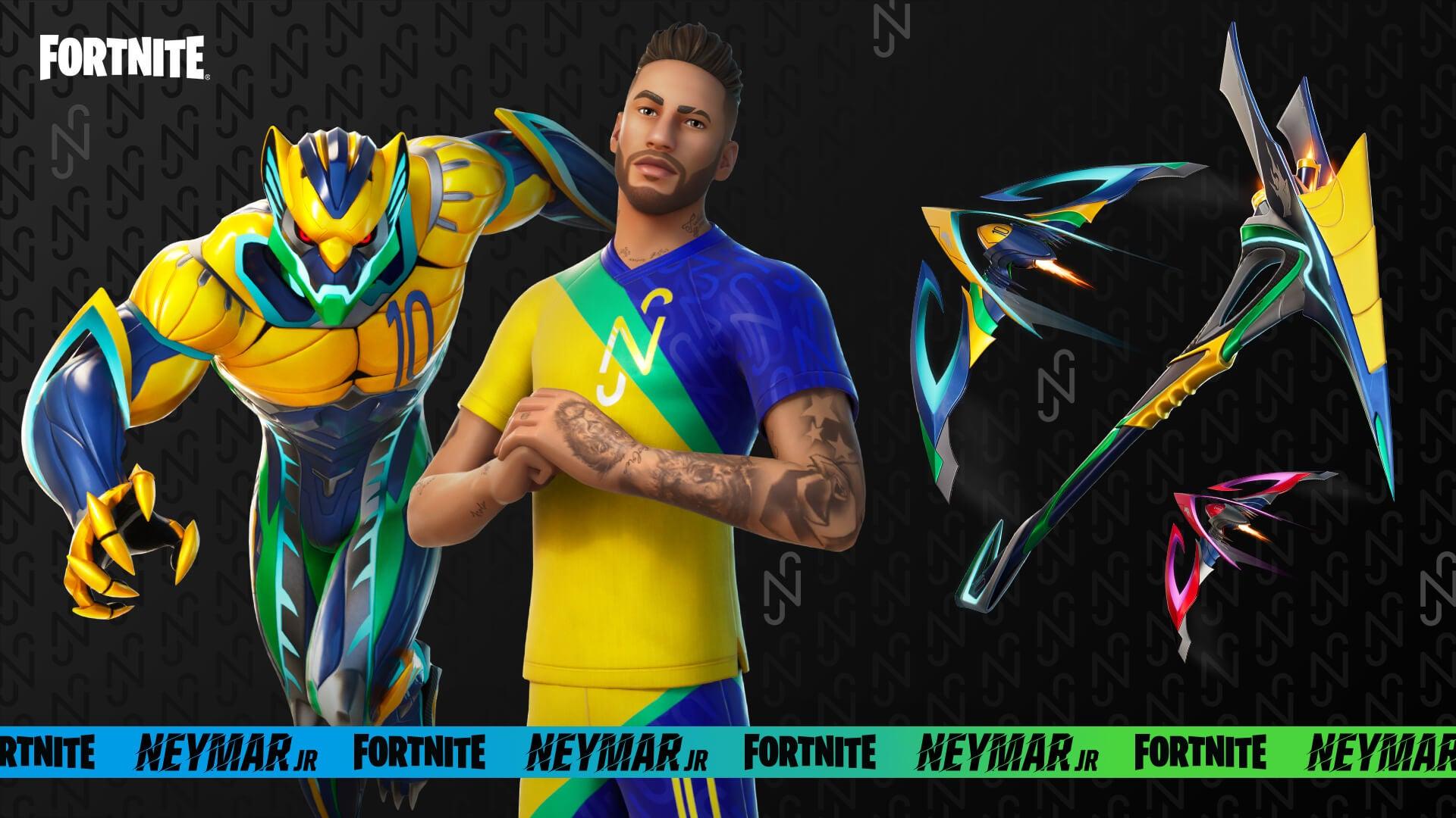 Image for Neymar Jr arrives in Fortnite later this week