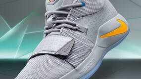 """Image for Nike's PG 2.5 x PlayStation colourway is an homage to the NBA star's """"earliest days of gaming"""""""