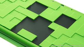 Image for Nintendo has unveiled a Minecraft-inspired 2DS XL with the Creeper Edition