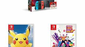 Image for Here's a Nintendo Switch with Pokémon Let's Go Pikachu and Just Dance 2019 for £300