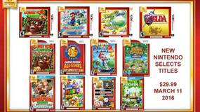 Image for Retailer lists new Nintendo Selects titles heading to North America in March