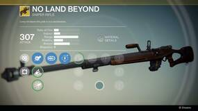 Image for Destiny: No Land Beyond, the worst gun ever to grace an FPS?
