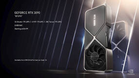 Image for Nvidia reveals the 3000 series graphics cards: 3070, 3080 and 3090, doubling last generation's performance