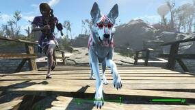 Image for Fallout 4 - give Dogmeat the look of Okami's white wolf