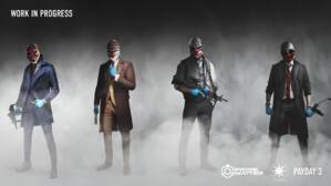 Image for Payday 3 is set in New York, stars the original gang