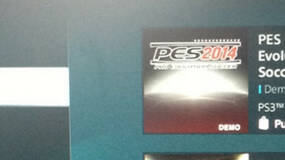 Image for PES 2014 demo appears on PS3 ahead of intended release - report