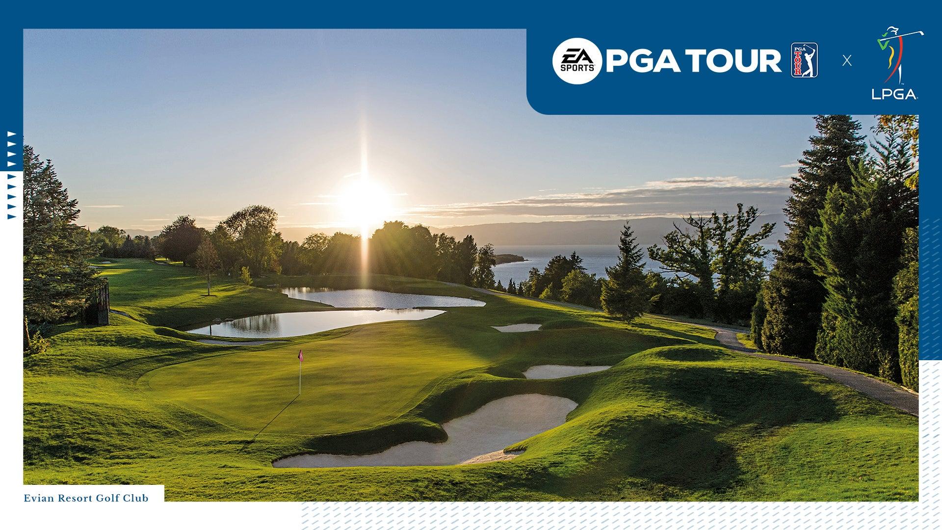 Image for EA Sports PGA Tour to include LPGA Players and Amundi Evian Championship