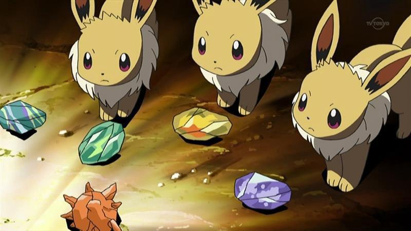 Image for Pokemon Go Eevee Evolution: Sylveon, Leafeon, Glaceon, Espeon, Umbreon, Vaporeon, Jolteon, Flareon evolve instructions
