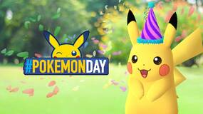 Image for Pokemon GO celebrates Pokemon Day with party hat Pikachu which knows the move Present