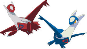 Image for Pokemon Omega Ruby and Alpha Sapphire: Latias and Latios available only via StreetPass