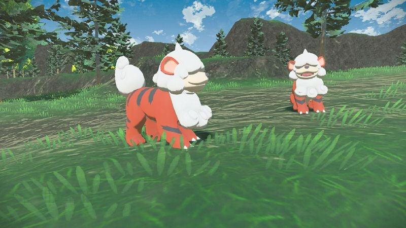 Image for Pokemon Legends: Arceus features Hisuian forms of familiar Pokemon