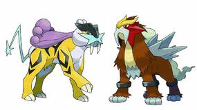 Image for Legendary Pokemon Entei and Raikou will be available for Pokemon Sun and Moon starting April 4