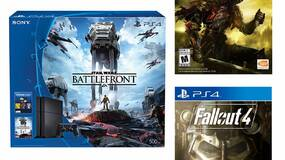Image for PlayStation 4 bundle includes Dark Souls 3, Fallout 4, and Battlefront for $390