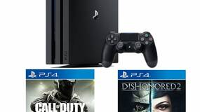 Image for Get a PS4 Pro with Call of Duty: Infinite Warfare and Dishonored 2 for $400