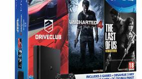 Image for Three PS4 1TB bundles coming next month, each contains Uncharted 4 and two other games