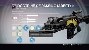 Image for Destiny: Doctrine of Passing is the Crucible's new essential weapon