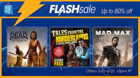 Image for PS Store Flash Sale: Mad Max, Tales from the Borderlands, others up to 80% off