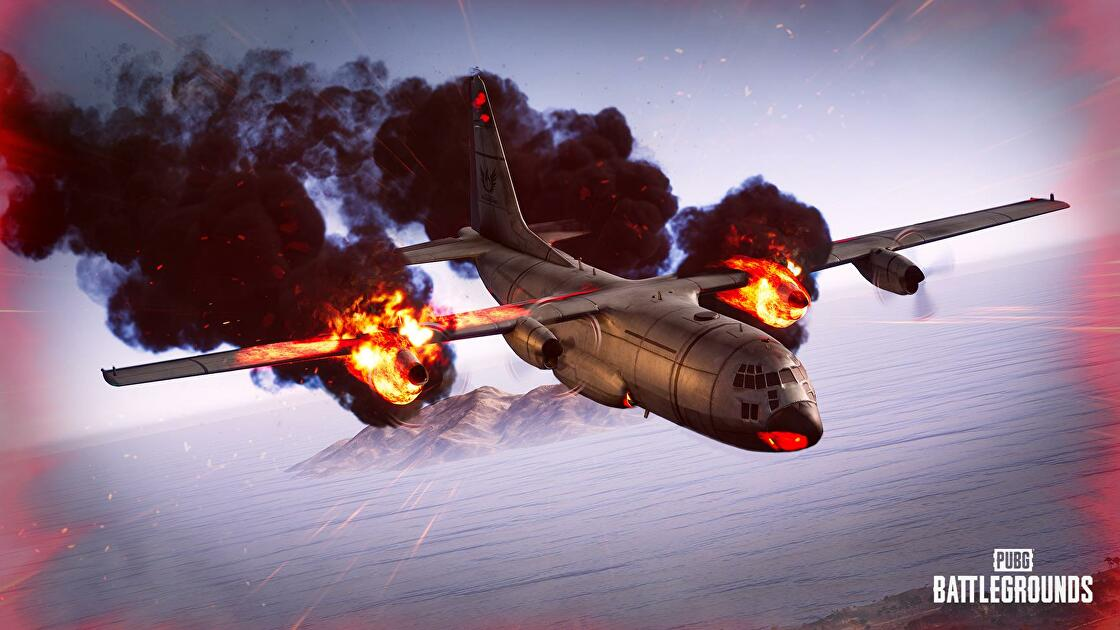 PUBG's planes may now be on fire