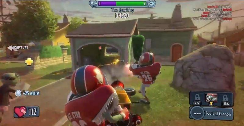 Image for Plants Vs Zombies: Garden Warfare - watch us play Gardens vs Graveyards mode