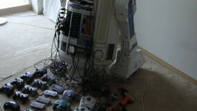 Image for This R2D2 droid is actually 8 consoles and a projector