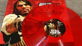 Image for Red vinyl LP of Red Dead Redemption Soundtrack now available through Rockstar Warehouse
