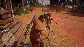 Image for Red Dead Online hackers are spawning in two-headed skeletons to kick the shit out of other players
