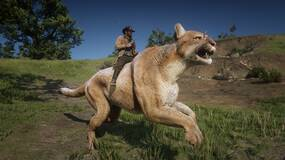 Image for Ride a giant cougar or hog with this Red Dead Redemption 2 mod