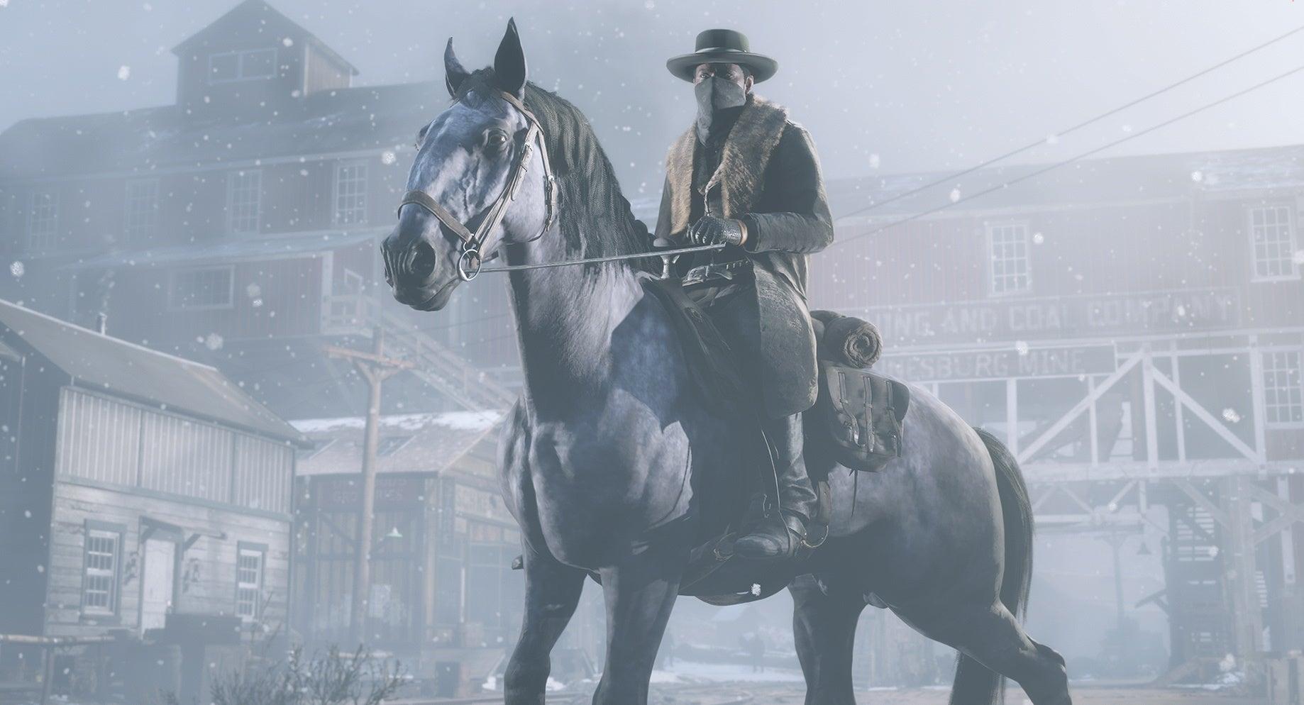 Image for Red Dead Online bug makes female horses grow balls