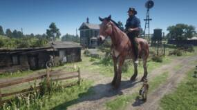 Image for Become a giant or tiny cowboy with this Red Dead Redemption 2 PC mod