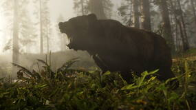 Image for You can stare down bears to prevent them attacking in Red Dead Redemption 2