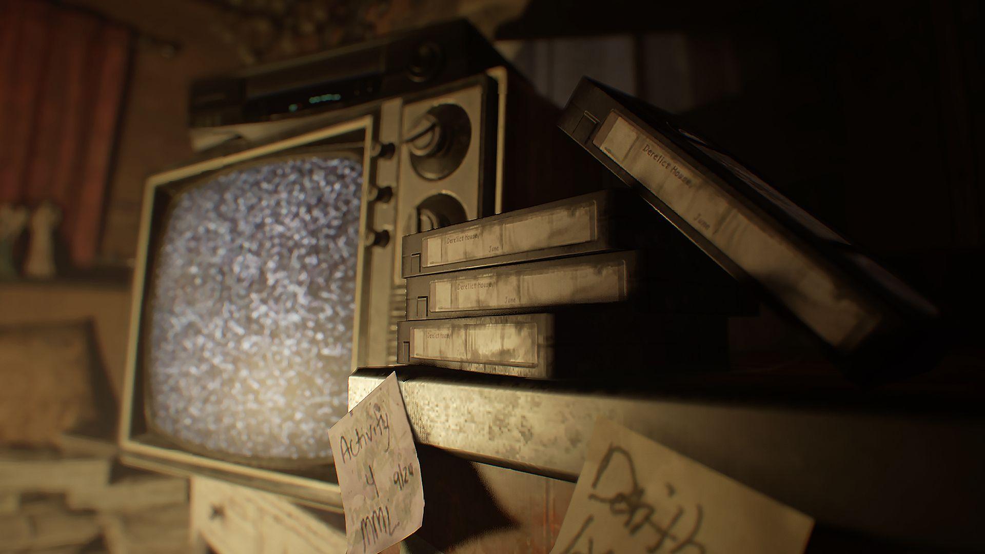Image for Resident Evil 7 walkthrough part 12: solve the Happy Birthday tape, survive Lucas' traps