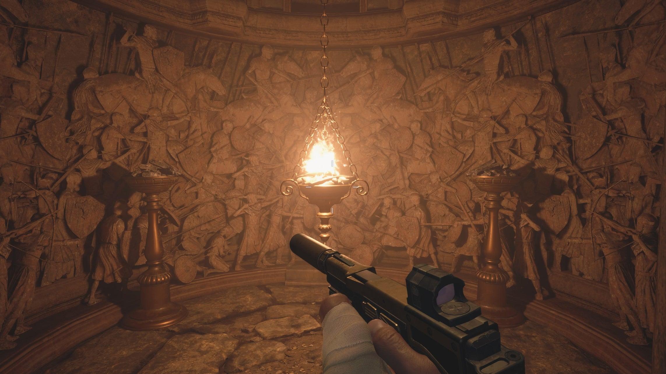 Image for Resident Evil Village Part 3 | Hall of War, Dungeon, Bela Dimitrescu First Daughter Boss