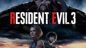 Image for Resident Evil 3 Remake cover art leaks, featuring Jill and Nemesis