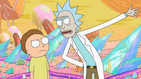 Image for Pokemon-style Rick and Morty game hits mobile next week