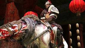 Image for AoC: Rise of the Godslayer screens show scary wolf mounts